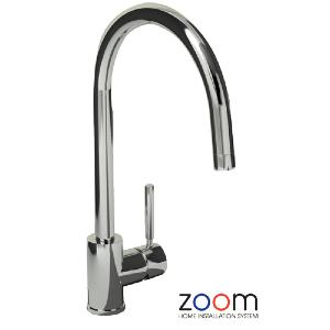 Abode Zoom Acten Side Lever Monobloc Kitchen Sink Tap ZP1009