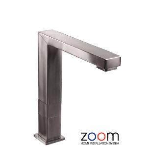 Abode Zoom Vixo Brushed Nickel Progressive Valve Mixer Tap Mono Kitchen Sink Tap ZP1062