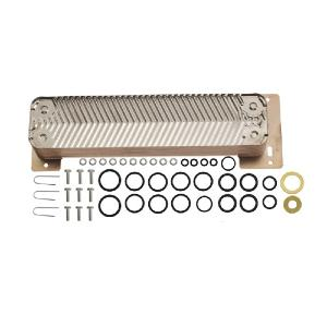 87161429040 Worcester Highflow 400 Electronic RSF Domestic Hot Water Heat Exchanger