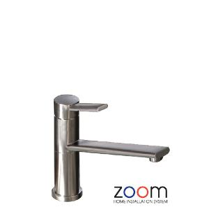 Abode Zoom Specto Brushed Nickel Mono Kitchen Sink Tap ZP1072