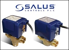 Salus Motorised Valves