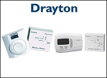 Drayton RF Wireless Room Thermostats