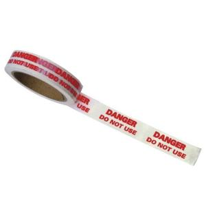 Regin REGA15 Danger - Do Not Use - Tape 33 Metre Roll