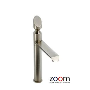 Abode Zoom Corvus Brushed Nickel Single Lever Monobloc Kitchen Sink Tap ZP1053