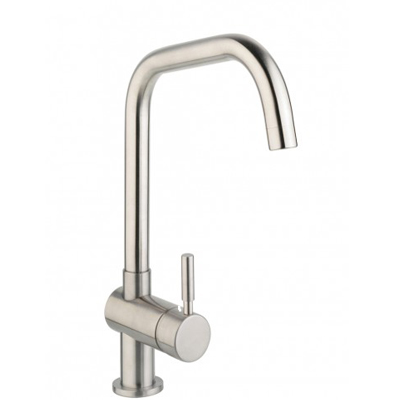 Design DE119EDS Stainless Steel Mono Kitchen Sink Mixer Tap