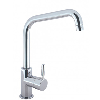 Design DE119DC Chrome Mono Kitchen Sink Mixer Tap