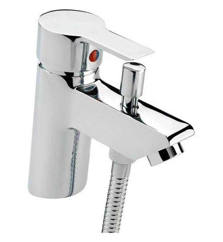 Cheap Tre Mercati Angle Bath Shower Mixer Tap With Shower
