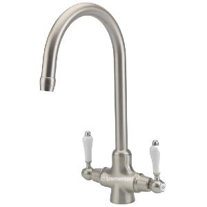 Tre Mercati French Classic Pewter Mono Lever Kitchen Sink Tap 286