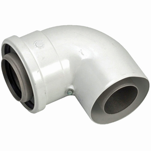 303910 Vaillant Ecotec Elbow 90 Degree 100mm