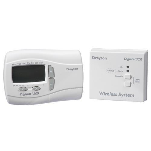 drayton rf700 rf wireless programmable room thermostat. Black Bedroom Furniture Sets. Home Design Ideas