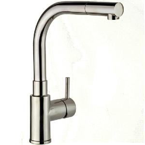 Apco Single Lever Chrome Mono Kitchen Sink Mixer Tap Pull out Spout