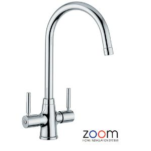 Abode Zoom Davenport Mono Kitchen Sink Tap ZP1001
