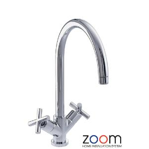 Abode Zoom Antila Monoblock Kitchen Sink Tap ZP1050