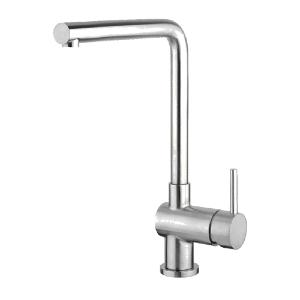 Apco Chrome Mono Kitchen Sink Mixer Tap Swivel Spout JTAPC182
