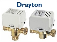 Drayton Motorised Valve