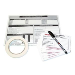 Regin REGP71 Chimney Flue Notice Pack
