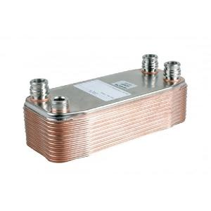 065153 Vaillant Domestic Hot Water Heat Exchanger 20 Plate