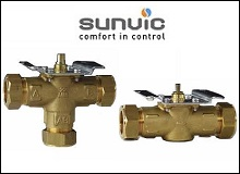 Sunvic Motorised Valve Bodies